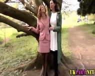 Mature Brit Lesbians Lick - scene 2