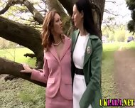 Mature Brit Lesbians Lick - scene 3