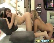 Teen Lesbo Step Sisters - scene 10