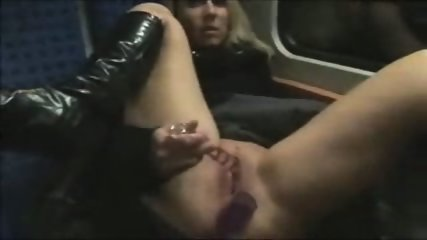 Germans fuck on a Train - scene 1