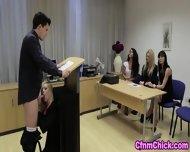 Cfnm Babe Humiliates Guy - scene 1