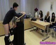 Cfnm Babe Humiliates Guy - scene 10