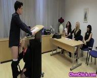 Cfnm Babe Humiliates Guy - scene 12