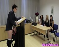 Cfnm Babe Humiliates Guy - scene 3