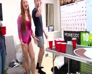 College Bitch Getblowjob Fake Agent Dick - scene 3
