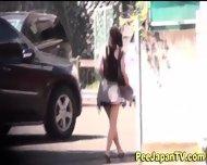 Asian Pisses Her Pants - scene 3