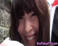 Toying Japanese Teen Babe - scene 12