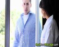 Nuru Masseuse Facialized - scene 4