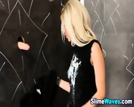 Blonde Gets Wet And Messy - scene 8