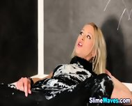 Blonde Gets Wet And Messy - scene 10