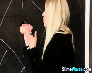 Blonde Gets Wet And Messy - scene 4