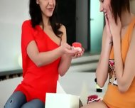 Two Sexy Lesbians In My Room - scene 3