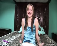 Up The Skirt Cutie Changes Clothes - scene 12