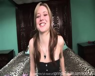 Up The Skirt Cutie Changes Clothes - scene 5