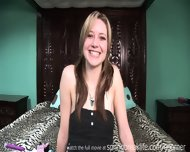 Up The Skirt Cutie Changes Clothes - scene 6