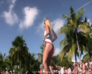 Hot Wet Contest Girls - scene 1