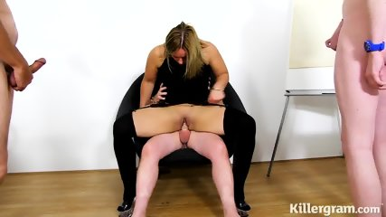 Gang Bang At Office Meeting - scene 6