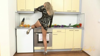 Solo Action In The Kitchen - scene 1