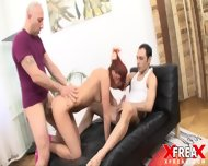 Redhead Lady Addicted To Hardcore Sex - scene 6