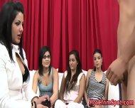 Real Babes Humiliate Dork - scene 8