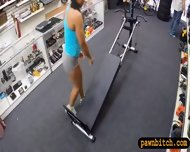 Masculine Big Tits Babe Pawns Her Pussy At The Pawnshop - scene 4