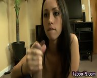 Teen Step Sis Facialized - scene 9
