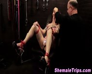 Fetish Shemale Shocked - scene 1