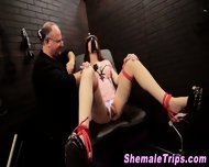 Fetish Shemale Shocked - scene 9