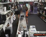 Big Tits Redhead Slut Goes To The Pawnshop And Gets Fucked - scene 2