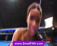 Ebony Fetish Swallows - scene 8