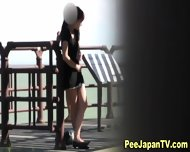 Japanese Sluts Urinate - scene 4