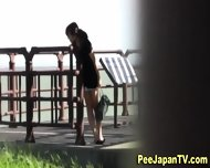 Japanese Sluts Urinate - scene 5