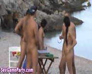 Beach Sex Game Fuck - scene 2