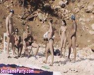 Beach Sex Game Fuck - scene 6