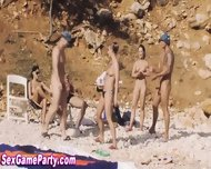 Beach Sex Game Fuck - scene 7