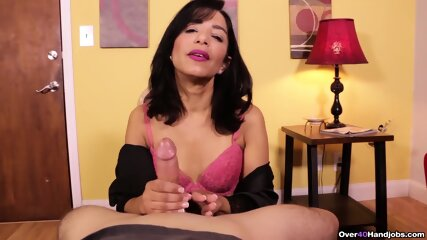 Don t Blow Your Load Yet! Latina MILF Gives Slow Edging Handjob