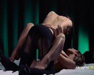 Lesbian Strap On Hardcore Intercourse - scene 4