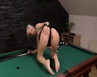 Seductive Blonde Making Luxury Strip - scene 1
