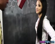 School Teen Sucks Teacher - scene 2