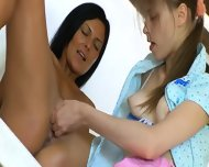 Russian Babysitter Beauties Fisting Snatches - scene 5