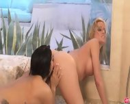Exclusive Lezz Love In The Shower - scene 10