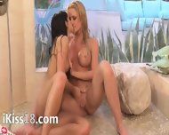 Exclusive Lezz Love In The Shower - scene 7