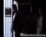 Teen Fingered By Old Man - scene 1