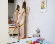 Striptease And Undress For A Mirror - scene 7