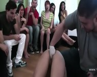 Group Of Young People Erotica On College - scene 4