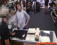 Pawnshop Straight In Gay Agreement - scene 1