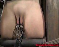 Bdsm Submissive Spanked Red Raw - scene 9