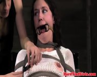 Chair Bondage Subs Nips And Pussy Clamp - scene 7