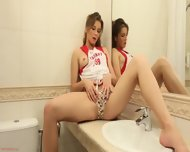 Solo Performance In The Bathroom - scene 1