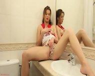 Solo Performance In The Bathroom - scene 2